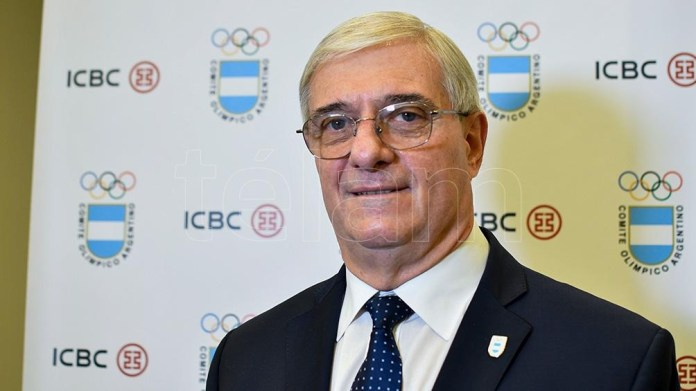Mario Moccia, el flamante titular del Comité Olímpico Argentino. Foto: Eliana Obregón