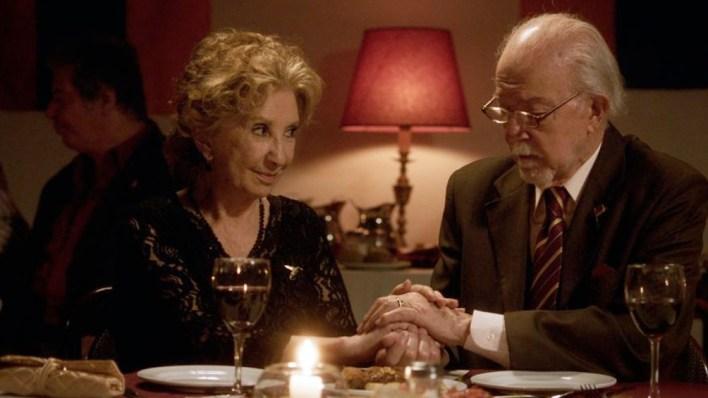 Norma Aleandro, a sus 85 años, se luce en la película de Alejandro Mangone.