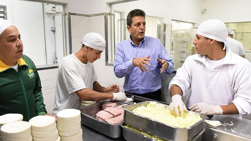 """Sergio Massa, anunció finalmente la presentación del proyecto en el Congreso, denominado """"Un puente al empleo""""."""