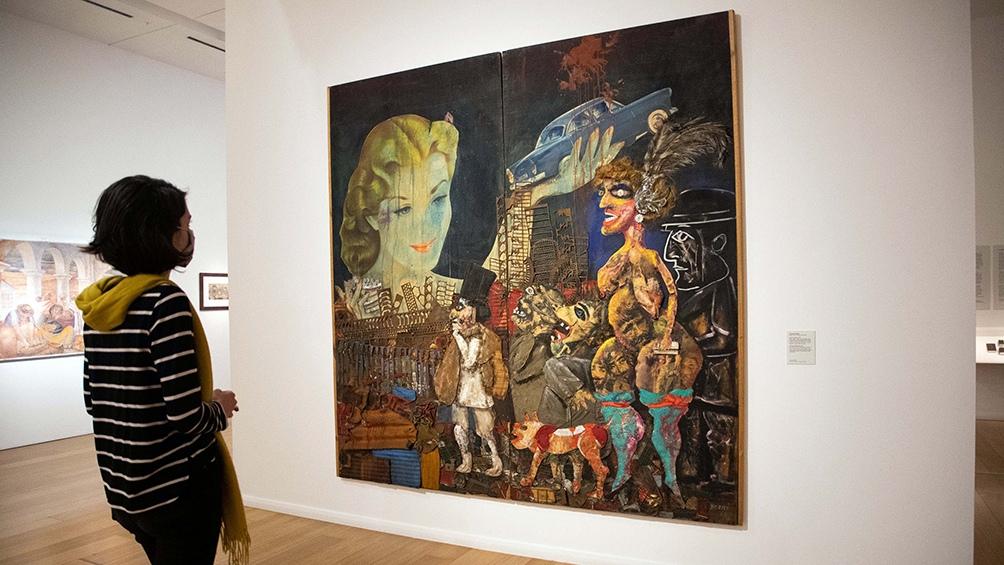 Todos los Berni: a 40 años de su muerte, un recorrido por sus obras exhibidas en Buenos Aires Foto: Camila Godoy