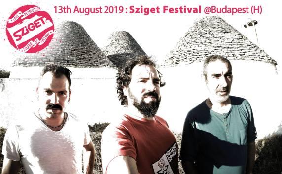 Télamuré au Sziget Festival 2019