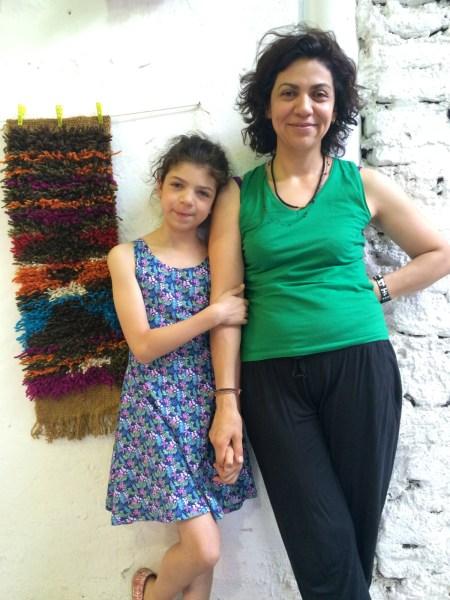 Caro y su hija