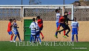 "C.D. Longueras ""B"" 2 - C.D. Ojo de Garza ""A"". Infantil Primera Grupo7º Tem 14-15"