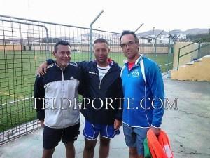 Horacio Herrera, Carmelo Bordón y  Almeida