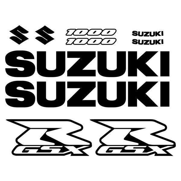 Pegatina Suzuki modelo GSXR 1000 2004