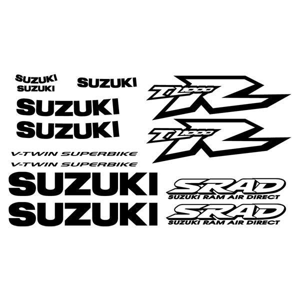 Pegatina modelo Suzuki TL 1000R v-twin superbike