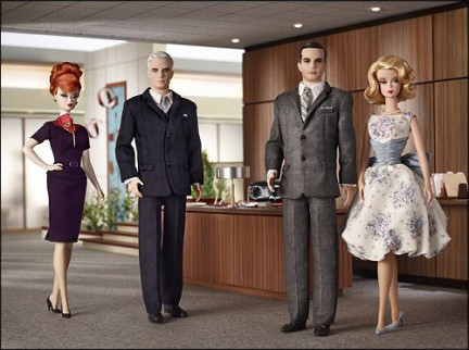 Mattel produce le bambole dei personaggi di Mad Men