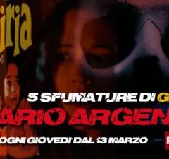5 sfumature di giallo, una breve rassegna di film da brivido di Dario Argento su Rai Movie 3