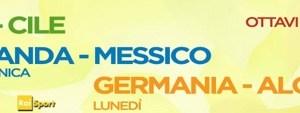 Mondiali 2014, ottavi di finale: Brasile-Cile, Olanda-Messico, Algeria-Argentina 7