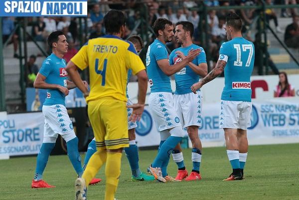 Napoli-Nizza, sport in tv