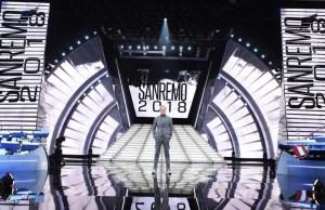 Festival di Sanremo la scenografia