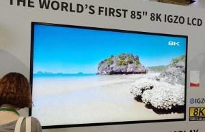 Televisore Sharp 8K
