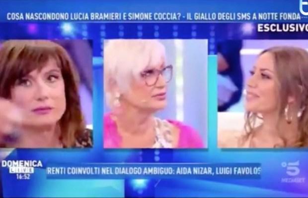 Barbara D'Urso e Karina Cascella copy