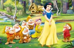 Biancaneve e i sette nani Rai Uno