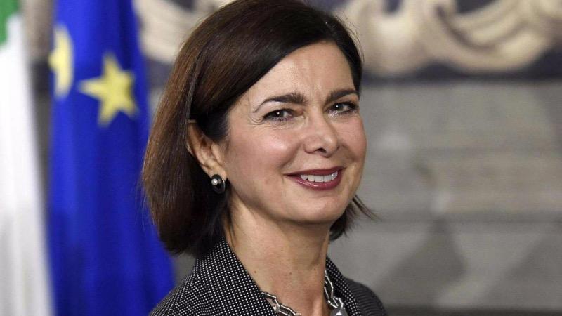 Laura Boldrini a Che tempo che fa