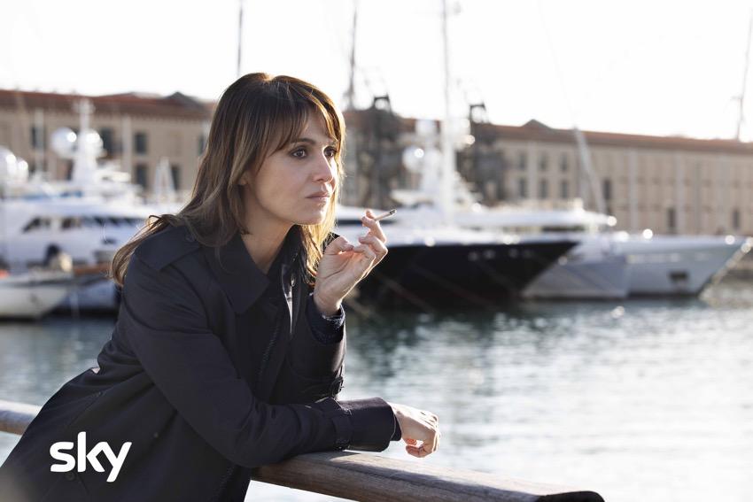 Paola Cortellesi set Petra