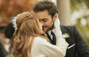Julieta e Saul finalmente sposi