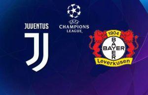 Juventus-Bayer Leverkusen Canale 5