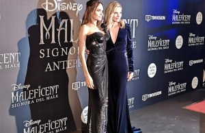 Maleficent 2, Angelina Jolie e Michelle Pfeiffer incantano Roma 2