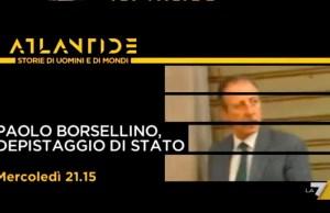Atlantide - Paolo Borsellino depistaggio di Stato
