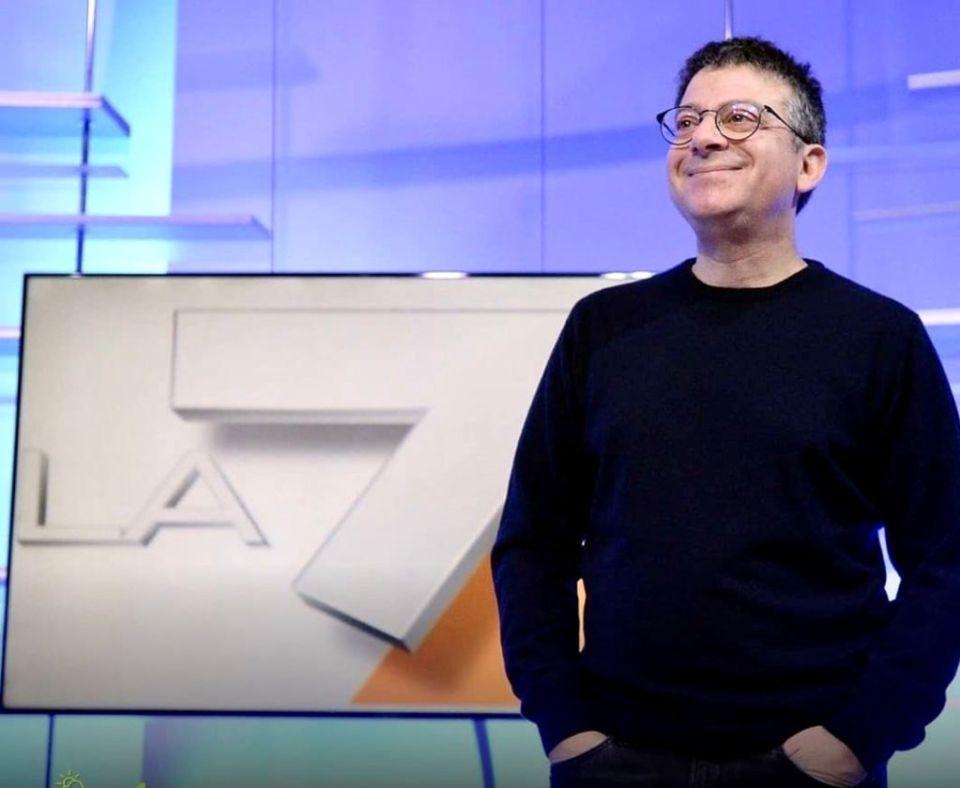 Andrea Salerno direttore La7