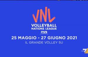 Volleyball Nations League La7 e La7d