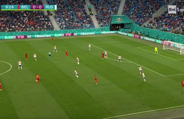Belgio-Russia ascolti tv rai uno