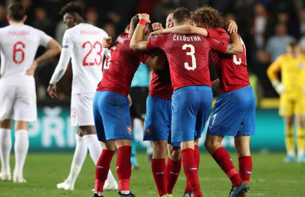 Repubblica Ceca-Inghilterra Euro 2020 rai uno