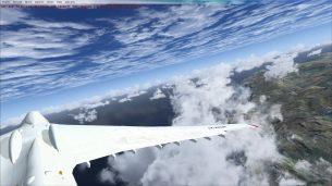 Flight simulator x 4