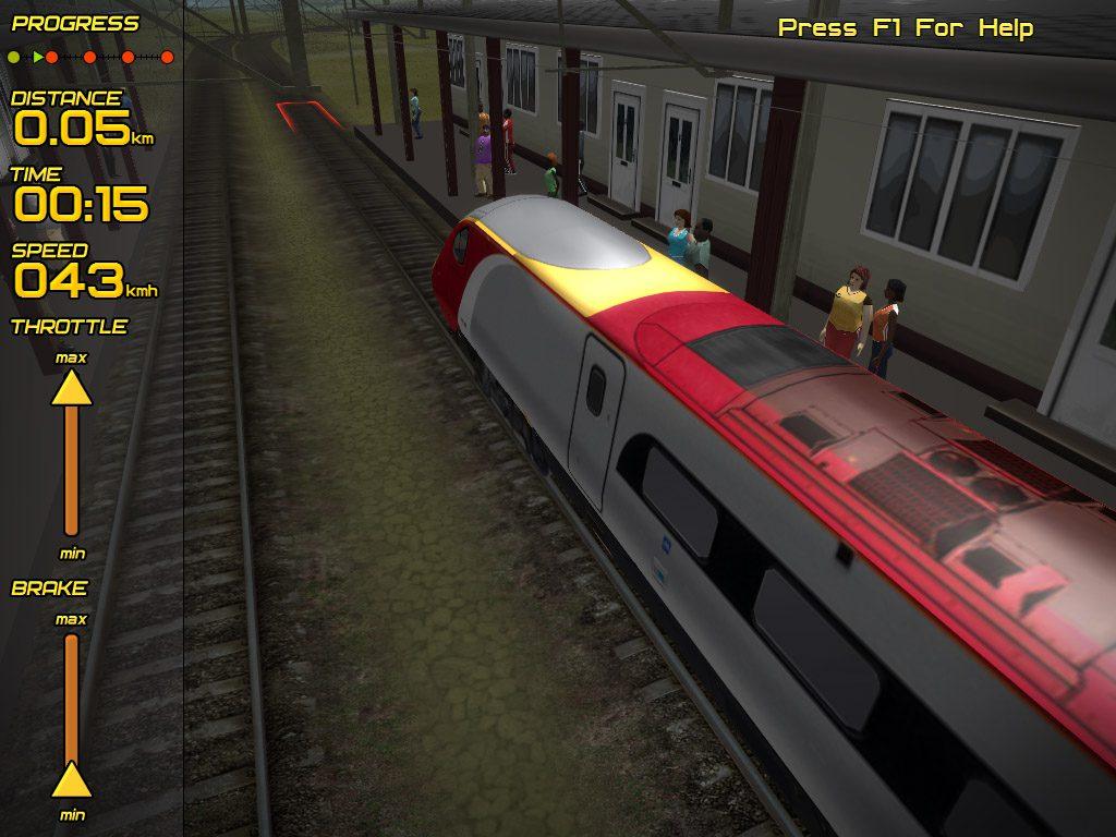Passenger Train Simulator-2