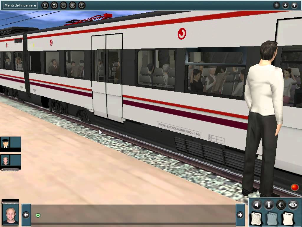 Passenger Train Simulator-6