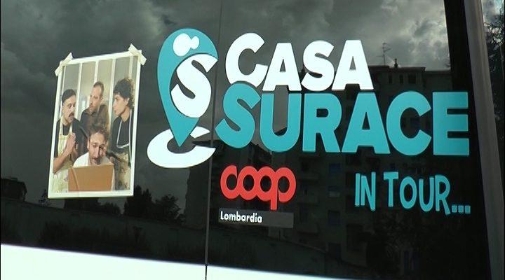Milano al via il tour della legalit di Casa Surace per