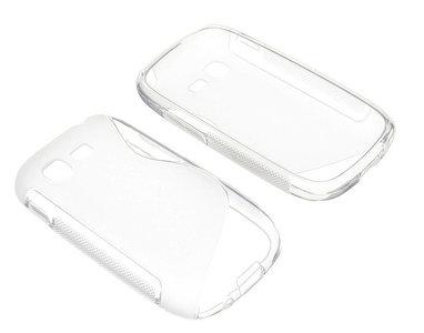 Samsung galaxy pocket 2 hoesje slicone case transparant