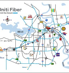 with a wireless provider in tow as anchor tenant for backhaul uniti fiber will be adding dark fiber in the northern louisiana city  [ 1010 x 813 Pixel ]