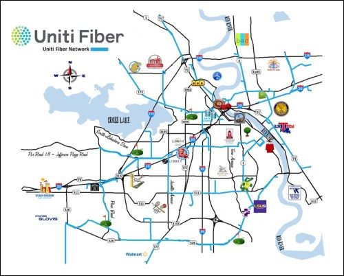 small resolution of with a wireless provider in tow as anchor tenant for backhaul uniti fiber will be adding dark fiber in the northern louisiana city