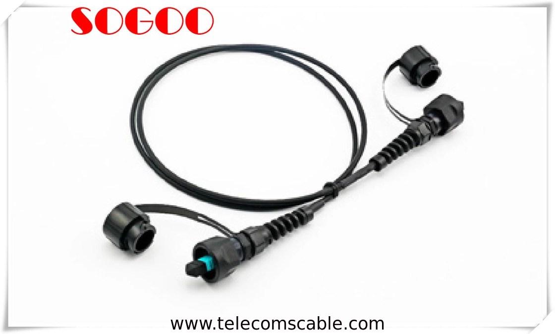 FTTA Outdoor Fiber Optic Patch Cable Duplex Waterproof LC