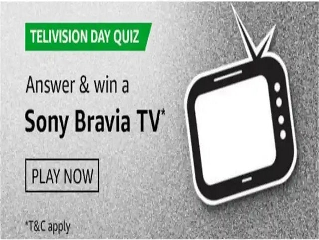 Amazon Television Day Quiz