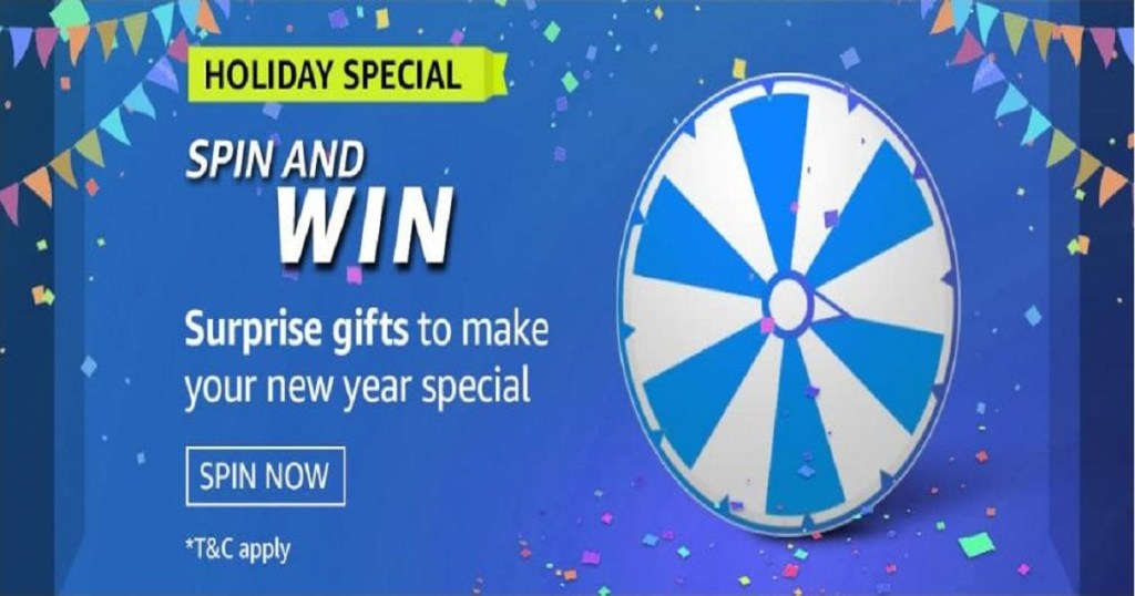 Amazon Spin And Win Holiday Special Quiz Answers