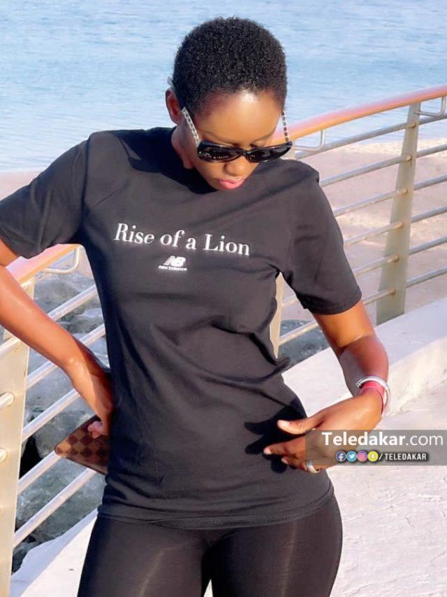 Queen Biz montre sa forme à Dubai