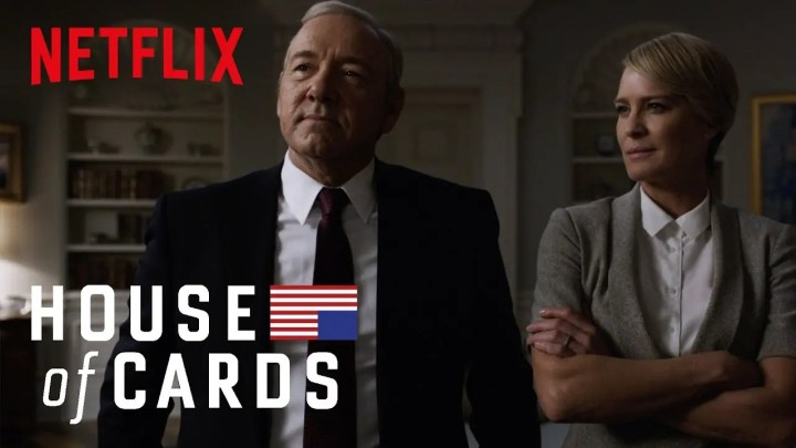 Netflix, torna disponibile la serie tv House of Cards