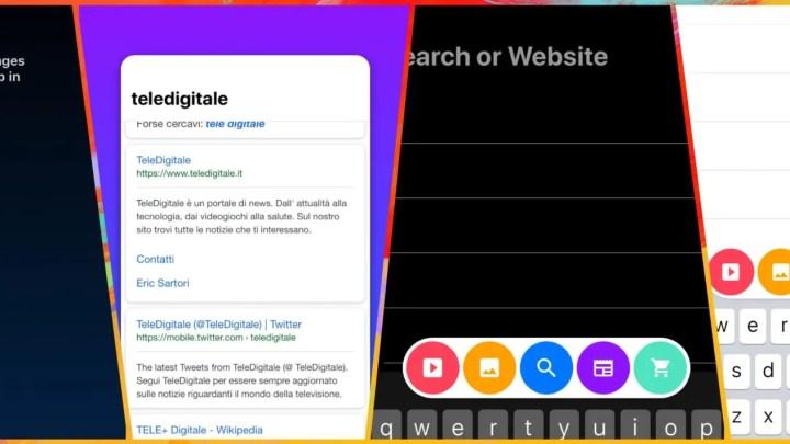 Cake, il nuovo browser mobile innovativo