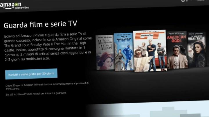 Amazon, lanciato nuovo servizio streaming gratuito