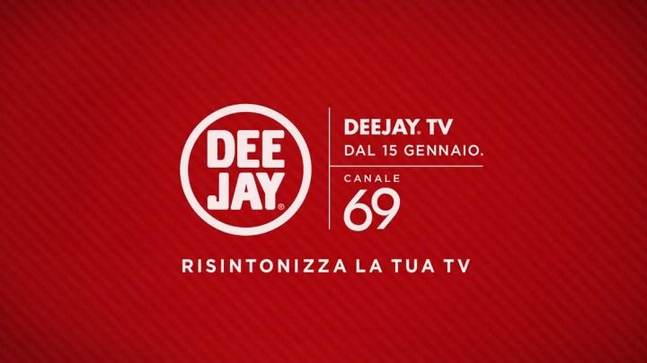 Digitale Terrestre, sul 69 torna Deejay TV