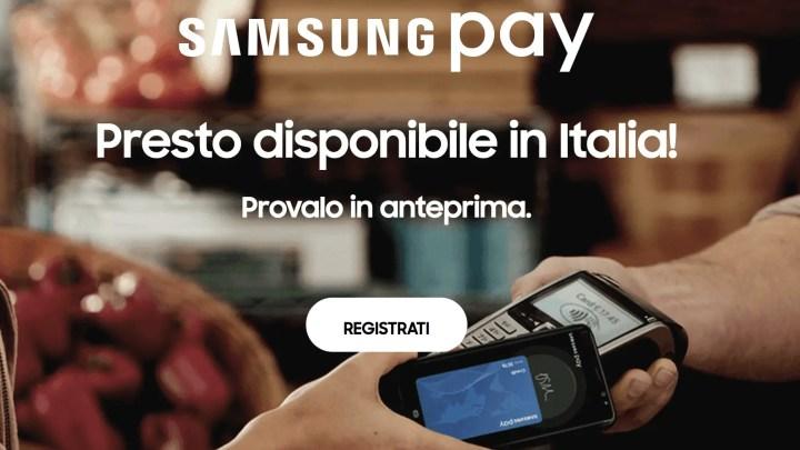 Samsung Pay, arriva in Italia la nuova app per pagamenti