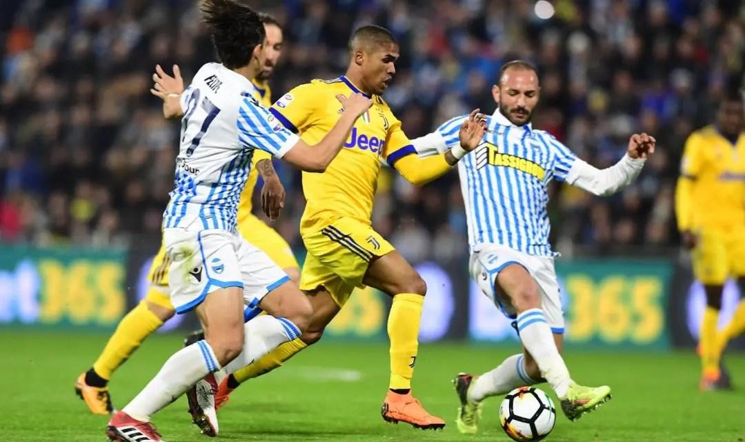Anticipi Serie A: vince il Sassuolo, Juve fermata dalla Spal