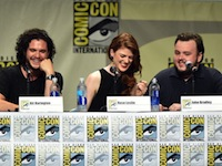 Kit Harington Game Thrones Panel Comic Con2014