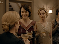 DOWNTON ABBEY 6.01 ANNA LADY MARY
