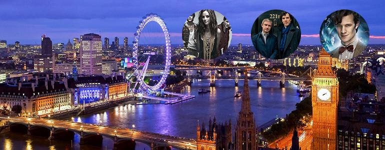 Capodanno a Londra per i fan di serie TV