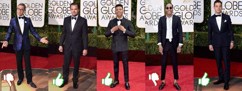 Golden Globes 2016_red carpet_men