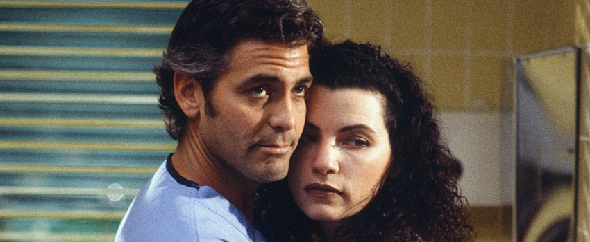 George Clooney e Julianna Margulies